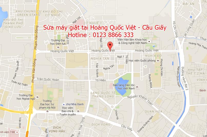 Sửa máy giặt tại Hoàng Quốc Việt