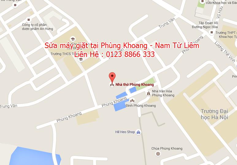 Sửa máy giặt tại Phùng Khoang - Nam Từ Liêm