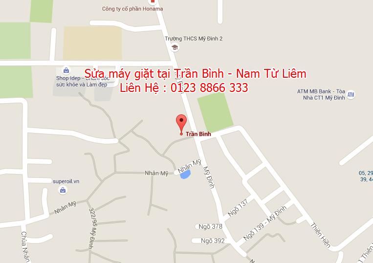 Sửa máy giặt tại Trần Bình - Nam Từ Liêm