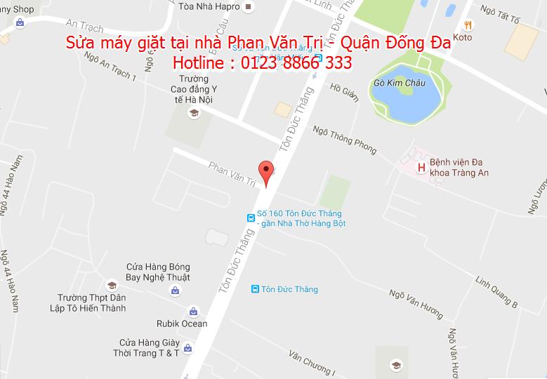 Sửa máy giặt tại nhà Phan Văn Trị - Quận Đống Đa