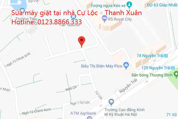 Sửa máy giặt tại nhà Cự Lộc - Thanh Xuân
