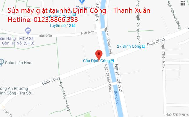 Sửa máy giăt tại nhà Định Công - Thanh Xuân